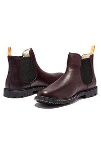 Timberland - BELANGER EK+ - Classic ankle boots - burgundy full grain - 4