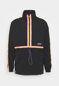 adidas Originals - TAPED ANORAK UNISEX - Windbreaker - black - 4