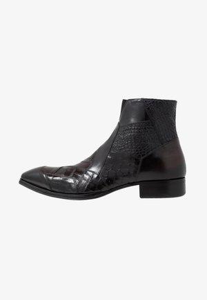 Korte laarzen - diver nero