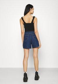 Lee - STELLA - Denim shorts - rinsed denim - 2