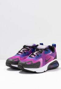 Nike Sportswear - AIR MAX 200 - Sneakers laag - hyper blue/white/vivid purple/magic flamingo/black - 4