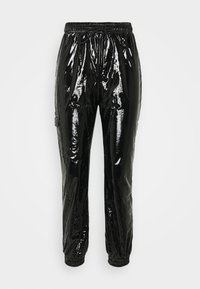 Sixth June - VINYL PANTS - Bukse - blac - 3