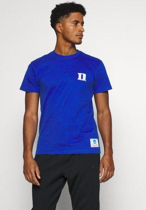 BLUE DEVILS  LOGO TEE - T-shirt imprimé - royal