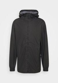 Rains - ULTRALIGHT JACKET UNISEX - Waterproof jacket - black - 3