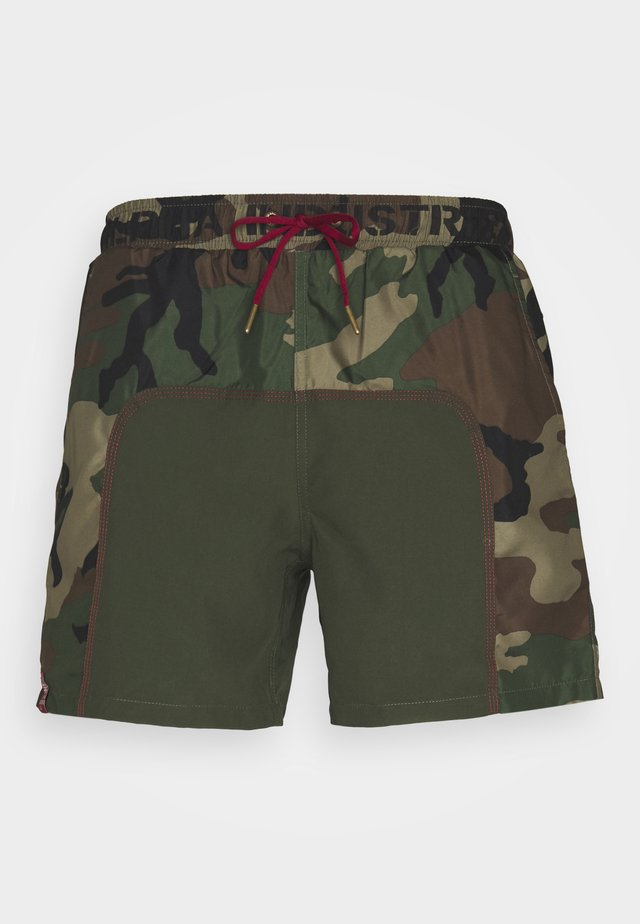 SWIM SHORT - Shorts da mare - woodland