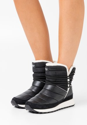 DEAN NORTH - Wedge Ankle Boots - black