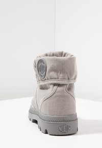 Palladium - VEGAN PALLABROUSSE BAGGY - Lace-up ankle boots - titanium/high rise - 3