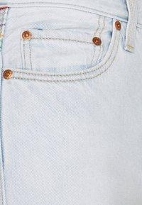 Levi's® - RIBCAGE STR ANK RAINBOW - Jeans straight leg - light-blue denim - 6