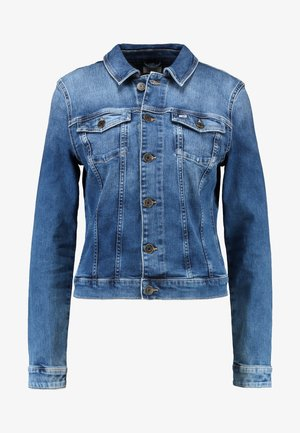 SLIM TRUCKER VIVIAN - Farkkutakki - blue denim
