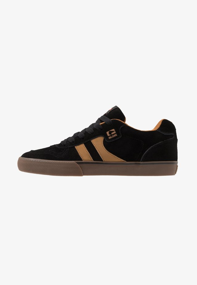 ENCORE-2 - Skateboardové boty - black/brown