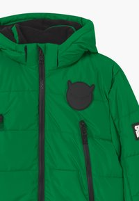 SuperRebel - SUSTAINABLE BASIC SHINY BOYS  - Snowboardová bunda - bottle green - 2