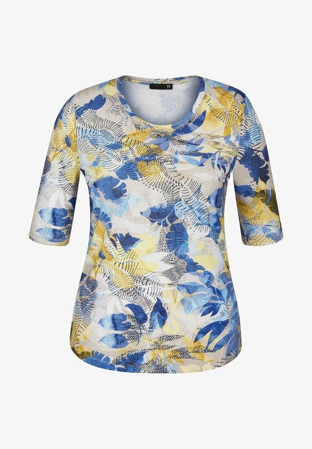 PAIA - Print T-shirt - cappuccino