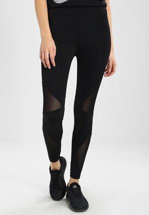 LADIES TRIANGEL TECH  - Legging - black/black