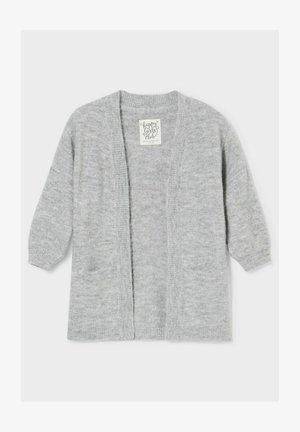 Cardigan - gray melange