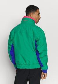 Columbia - BUGABOO 1986 INTERCHANGE 2 IN 1 JACKET - Outdoor jacket - emerald green/lapis/bright geranium - 2