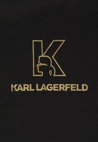 KARL LAGERFELD - CREWNECK - Triko spotiskem - black - 5