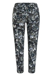 Cambio - JORDEN SEAM - Trousers - dark shaded butterfly camouflage - 1