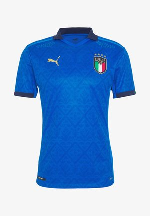 ITALIEN FIGC HOME AUTHENTIC - Landslagströjor - team power blue/peacoat