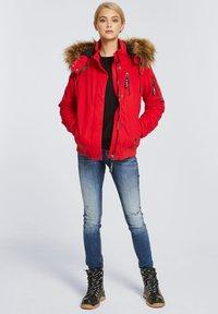 Harlem Soul - GI-GI  - Winter jacket - red - 1