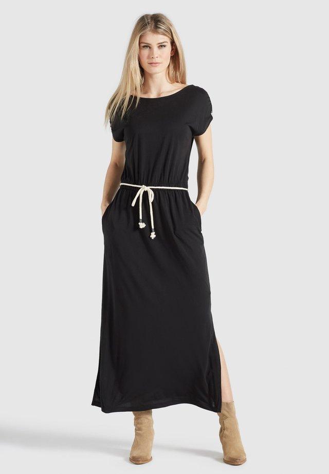 DOREEN - Vestito lungo - schwarz