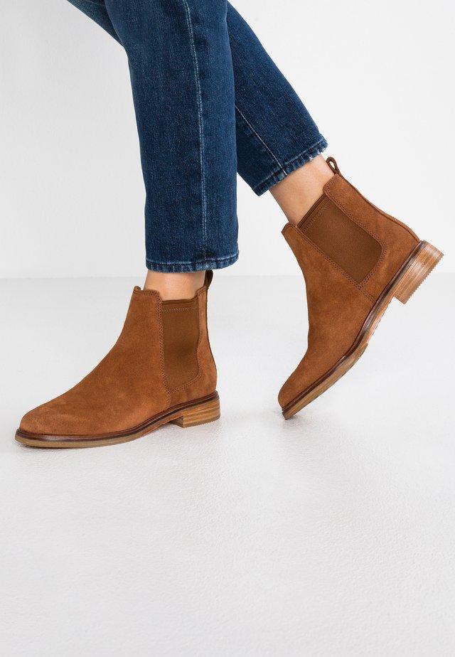 ARLO - Boots à talons - dark tan