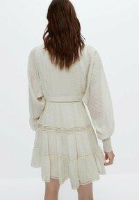 Uterqüe - Robe chemise - white - 2