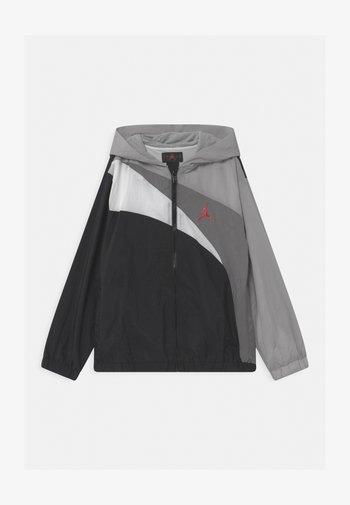 JUMPMAN WAVE - Sportovní bunda - light smoke gray