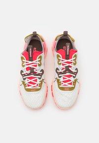 Nike Sportswear - REACT VISION - Trainers - summit white/ironstone/siren red - 5