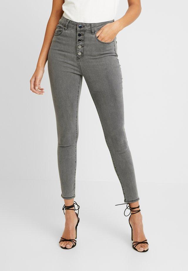HEIDI JEAN - Jeans Skinny - brooklyn grey