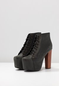 Jeffrey Campbell - Lace-up ankle boots - black - 4