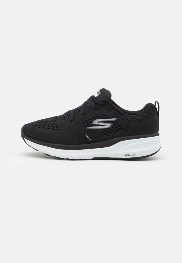 PURE 2 - Scarpe running neutre - black/white