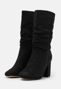 Dorothy Perkins Wide Fit - WIDE FIT BLOCK BOOT - Boots - black - 2