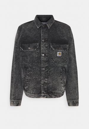STETSON JACKET PARKLAND - Veste en jean - black worn washed