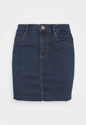 ONLCARMEN SKIRT - Falda vaquera - medium blue denim