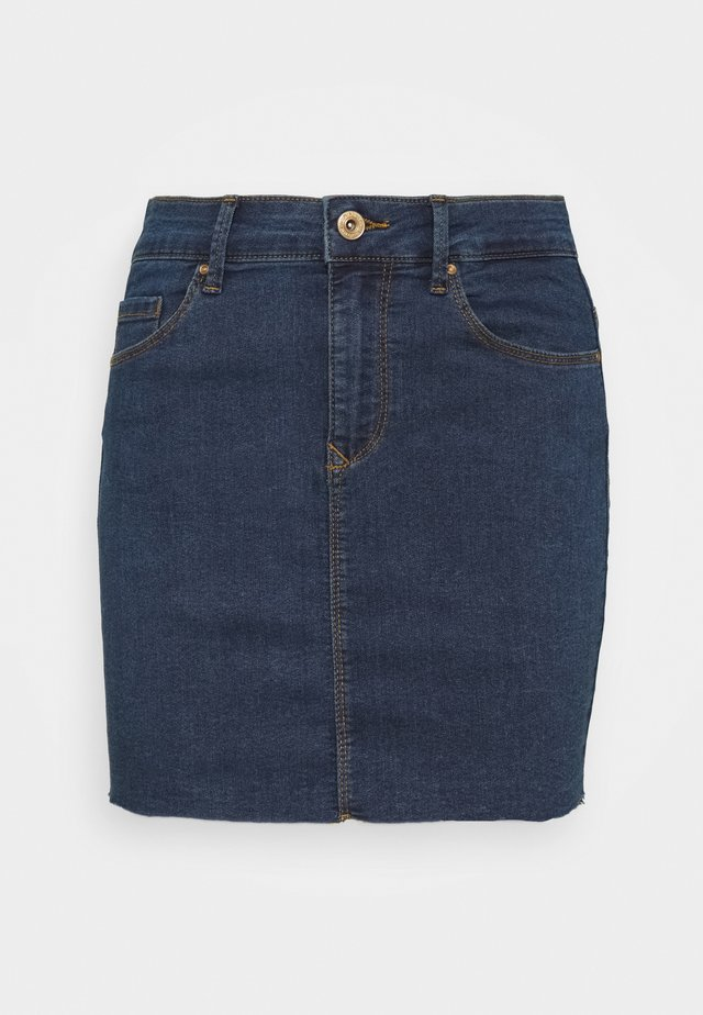 ONLCARMEN SKIRT - Spódnica jeansowa - medium blue denim