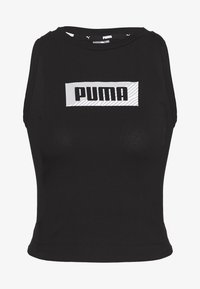 Puma - SUMMER PRINT TANK  - Topper - cotton black - 0