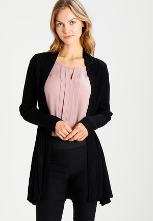 CLAUDISSE CAR - Strickjacke - black