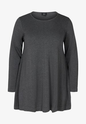 MIT A-PASSFORM - Jumper - dark grey