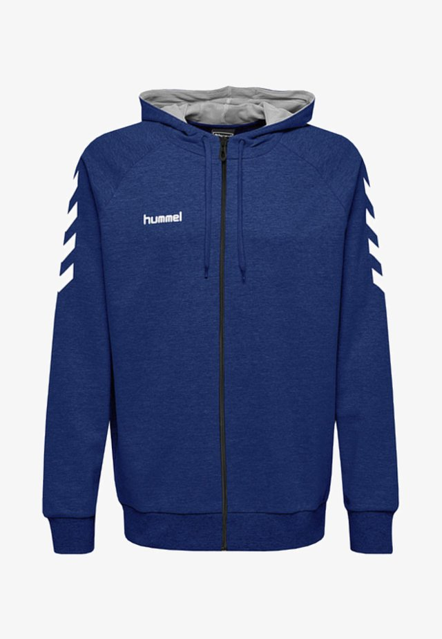 ZIP HOODIE - Zip-up hoodie - true blue