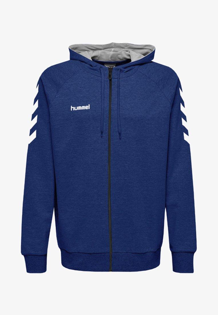 Hummel - ZIP HOODIE - Zip-up hoodie - true blue