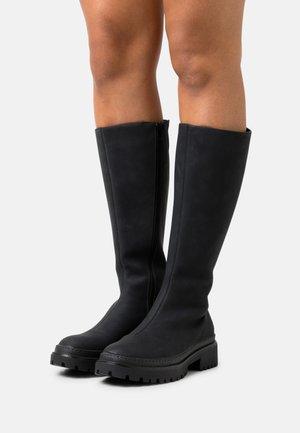 VMSALLY BOOT - Platåstøvler - black