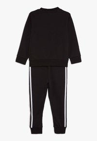 adidas Originals - CREW SET - Tracksuit - black - 1