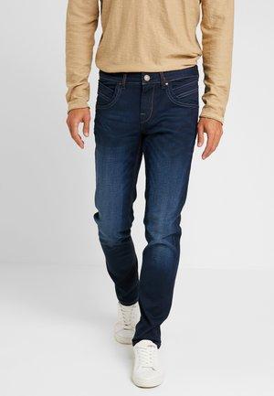HENLOW - Straight leg jeans - dark blue