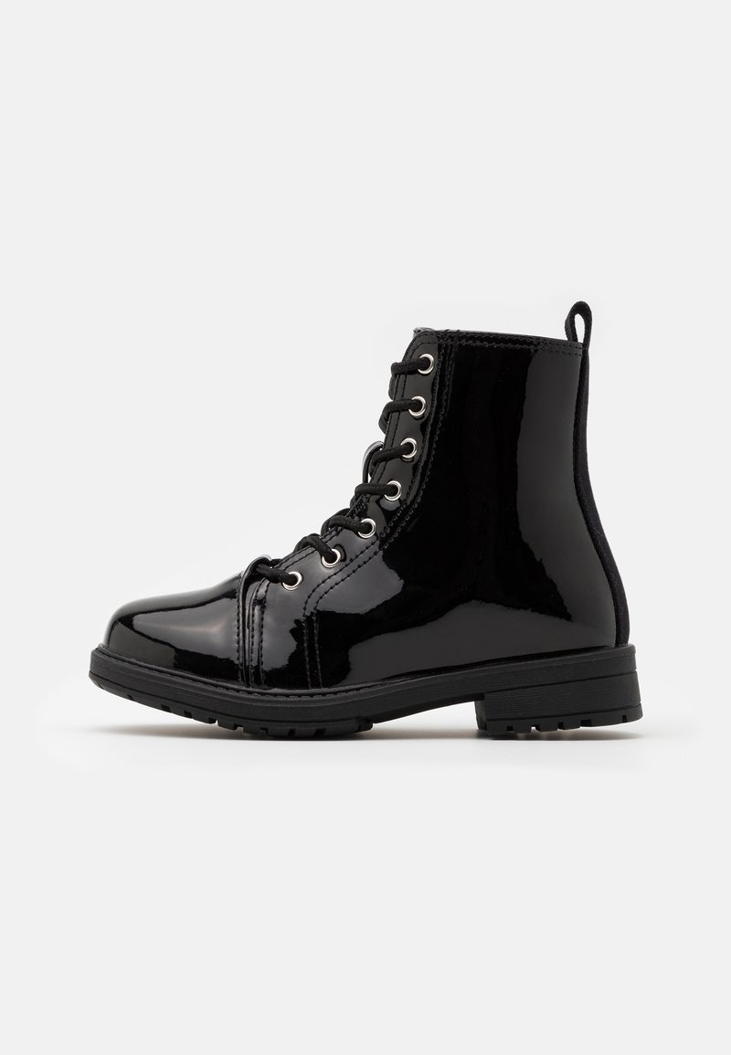 Cotton On - LACE UP ROXIE BOOT - Bottines à lacets - black