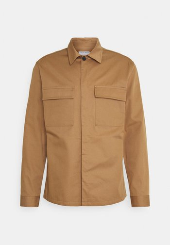 BERGEN - Košile - tobacco brown
