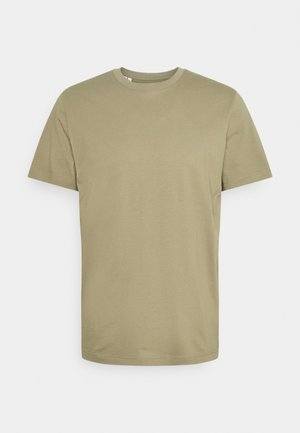 SLHNORMAN O NECK TEE - Basic T-shirt - aloe