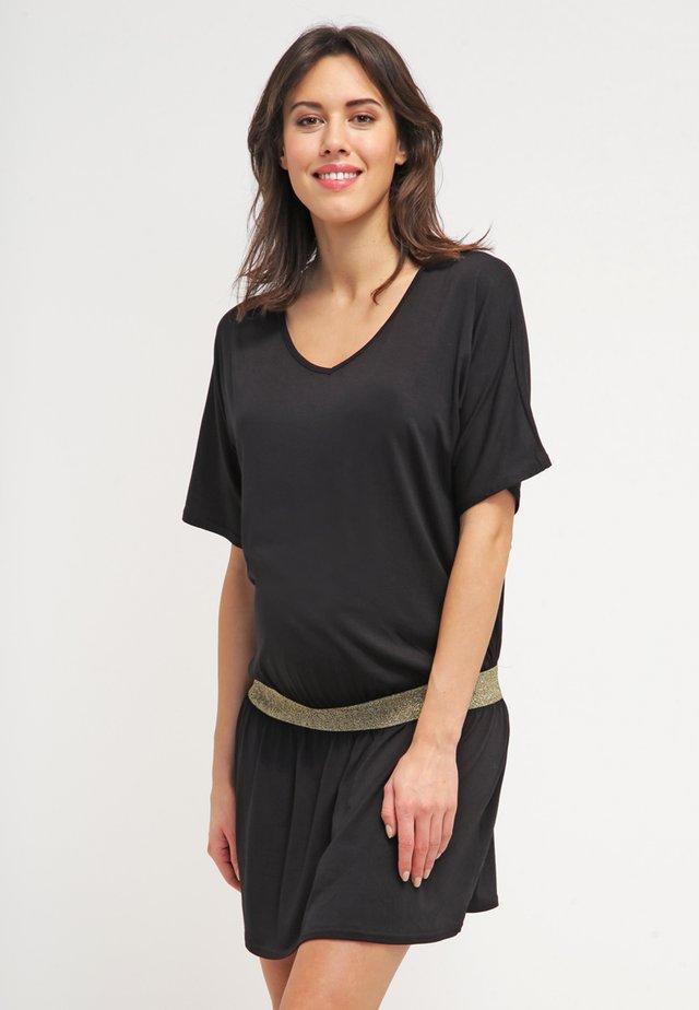 DANNYOR - Jersey dress - black