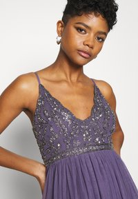 Lace & Beads - LEXI  - Occasion wear - mulled grape - 5