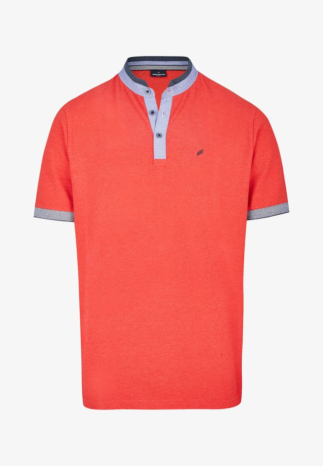 CONTRAST - Polo shirt - red
