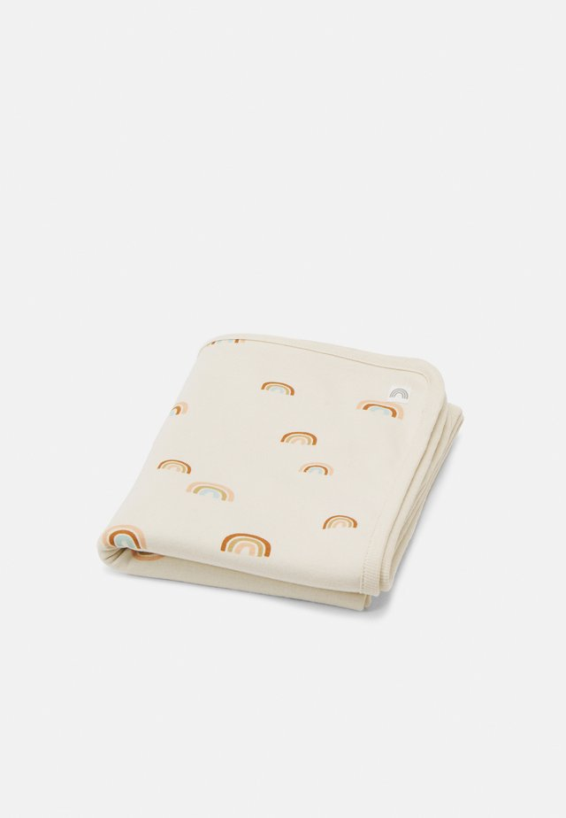 SHAWL BLANKET RAINBOW UNISEX - Tappetino per neonato - light beige
